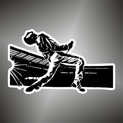 Aufkleber - Sticker Queen Freddie Mercury hip hop rock pop funk sticker