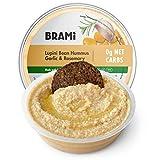 BRAMI Lupini Bean Hummus Dip & Spread | 0g Sugar, 0g Net Carbs | Keto, Vegan, Vegetarian,...