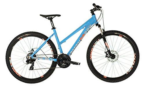 Diamondback Women's Sync Hardtail Sport Mountain Bike, Blue, 20-Inch