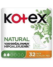 Kotex Natural İnce Günlük Ped 32'li 1 Paket (1 x 84 g)