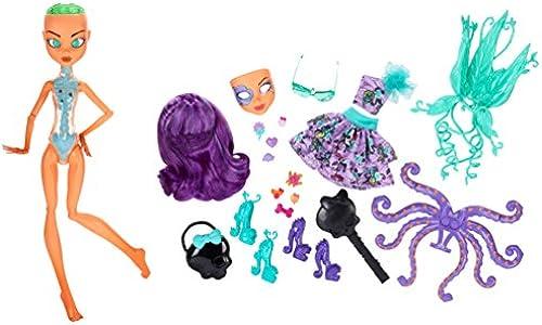 Mattel Monster High BJR26 - Inner Monster, Monsterkrass sü unheimlich wild, Puppe