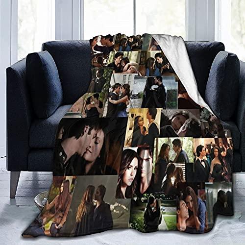 Delena Ship The Vampire Diaries (TVD) Decke FleeceultraSoft Micro Soft Decken für Couch Schlafsofa Wohnzimmer 80 'X 60'