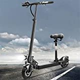 Bicicletas Eléctricas, Bicicletas eléctricas rápidas for adultos Tráfico scooter con asiento Velocidad máxima 50 km / H, máxima 60 km de carrera a Distancia mini coche de batería con carga del teléfon
