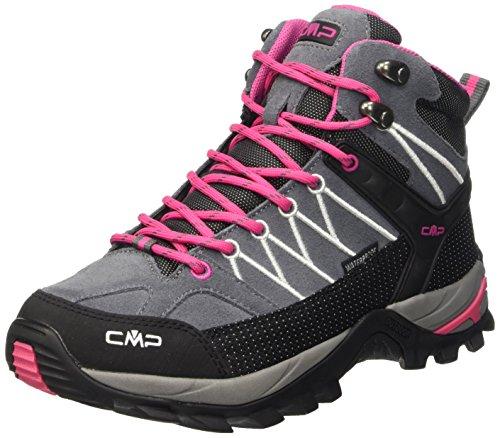 CMP Damen Rigel 3Q12946, Trekking- & Wanderhalbschuhe, Grau (Grey-Fuxia-Ice 103Q), 41 EU