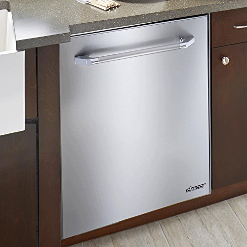 RDW24S Renaissance 24 Fully Integrated Dishwasher with 14+ Place Setting Capacity 6 Wash Cycles RapidDry Convection Fan 49 dBA WhisperWash and 7-Part PureClean System: Stainless Steel
