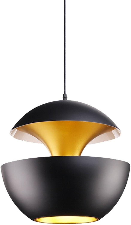 JIAHONG Lustre moderne en acier inoxydable moderne bar chandelier chandelier chandelier créatif, restaurant suspendu (Taille   25cm)