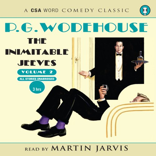 The Inimitable Jeeves, Volume 2 cover art