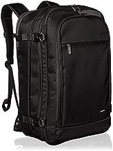 AmazonBasics Carry-On Travel Backpack - Black