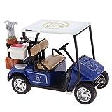 La Cabina Enfant Jouet Véhicules Modèle Mini Chariot de golf Avec Musique et Lumière Inertiels Voiture Jouets Educatif Cadeau pour Enfant (bleu)