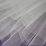 1 Meter – Weiß – extra steifer Netzstoff für Tutu