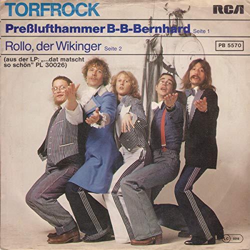Presslufthammer B-B-Bernhard / Rollo, Der Wikinger [Vinyl Single 7'']