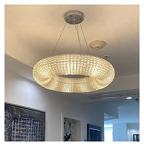GZXYKJ Colgando Lámpara Moderno Lujo de Lujo Cromado Oro led Cristal lámparas de Cristal para cenar Sala de Estar Dormitorio Inicio lámparas de Interior lámparas Cristales