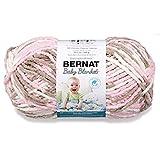 Bernat Baby Blanket Big Ball Little Petunias