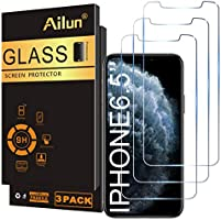 Ailun for Apple iPhone 11 Pro Max/iPhone Xs Max Screen Protector 3 Pack 6.5 Inch 2019/2018 Release Tempered Glass 0.33mm...