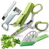 Herb Scissors Set, Multipurpose Kitchen...