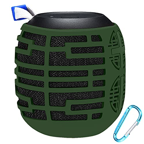 Seracle Funda de Silicona Protectora para Ultimate Ears Wonderboom Altavoz Portátil Inalámbrico Bluetooth :(verde)