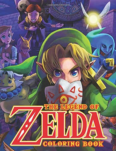 The Legend Of Zelda Coloring Book: Jumbo Coloring Books For Kids And Teens