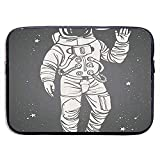 Pop-Art-Astronaut begrüßt 15-Zoll-Laptop-Tasche - Tablet Clutch Tragetasche