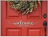 CLIFFBENNETT Autocollant de Porte d'entrée avec Inscription « Welcome Home » - en...