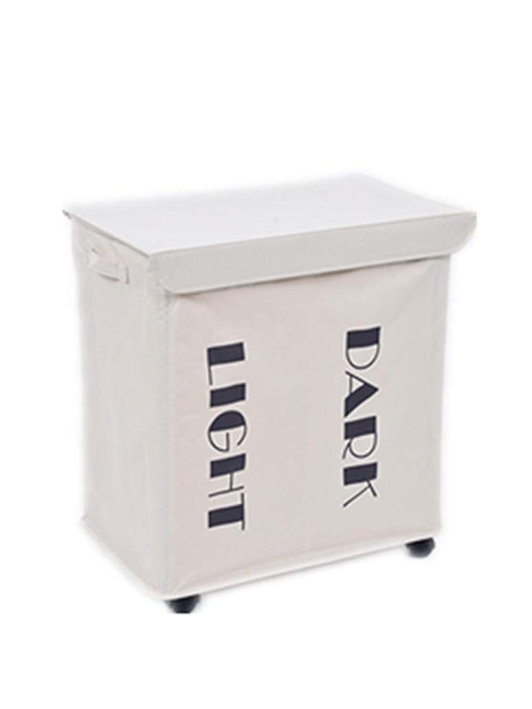 別の壮大な影響するNasou 家庭用品衣類収納ボックス、車輪付きフタ付き鉄製フレーム折りたたみ収納補助具、携帯用折りたたみ収納袋