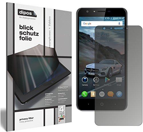 dipos I Blickschutzfolie matt kompatibel mit Doogee Y6C Sichtschutz-Folie Bildschirm-Schutzfolie Privacy-Filter