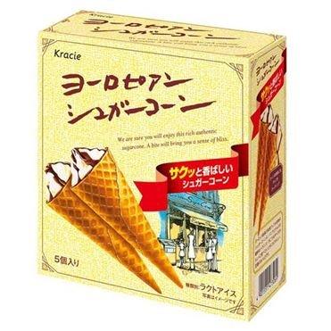 ヨーロピアンシュガーコーン 56ml×5×6個 【冷凍】(1ケース)
