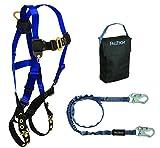 FallTech 9001HS, Carry Kit - 7016 Harness, 8259 SAL, 5005P Gear Bag, Black