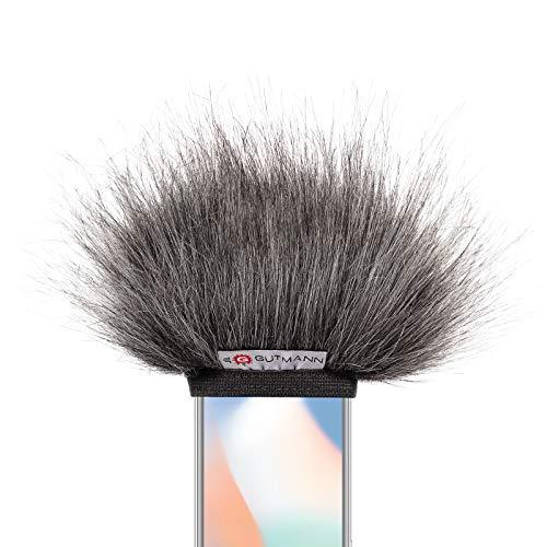 Gutmann Microfoon Windscherm voor Apple iPhone SE Premium Edition Grey met voering