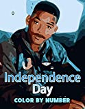 Independence Day Color by Number: Academy Award for Best Visual Effects Epic Science Fiction Action Film Illustration Color Number Book for Fans Adults Creativity Gift