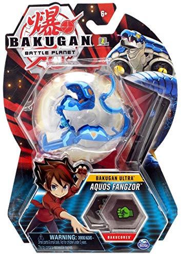 BAKUGAN Deluxe 1 Pack 3 Inch Figure Aquos Fangzor