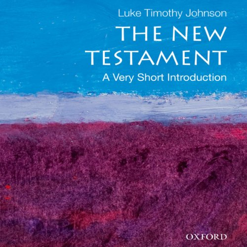 The New Testament: A Very Short Introduction audiobook cover art