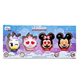 Lip Smacker Disney Emoji Lip Balm 4 Pack - Mickey, Minnie, Marle, Daisy