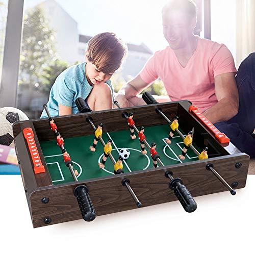 RHSML Tischfußball, Tischkicker Fußball Indoor Outdoor Gaming Brettspiele Arcade Sports Fun Spielen für Kinder Erwachsene Familie Bar Nacht