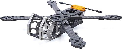 Ballylelly-RC-Drohnen-Zubeh GEPRC GEP-KHX5 Elegantes 230-mm-RC-Quadcopter-Rahmenkit mit Armlehnenstruktur Kohlefaser-Racing-Drohne FPV Multicopter-Flugzeugteile