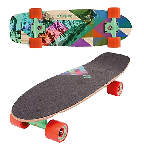 Street Surfing 06-08-003-2 Cruiser Rocky Skateboard, Multicolor, 71 x 21.5 cm
