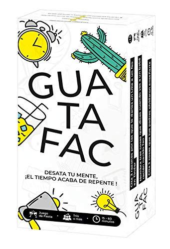 GUATAFAC – Juego de mesa - Juego de cartas para fiestas y risas – Edición Español