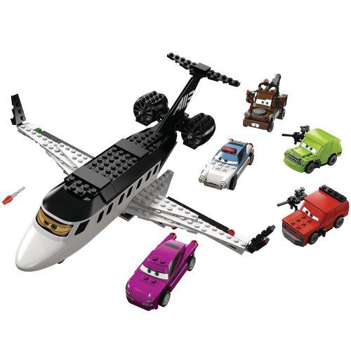LEGO Cars 8638 - Jagd nach dem Agenten-Jet