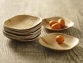 bamboo tasting plates