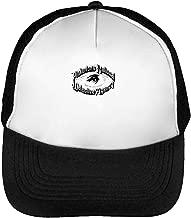 Pinkerton'S Detective Agency We Never Sleep Gorras Hombre Snapback Beisbol Negro Blanco