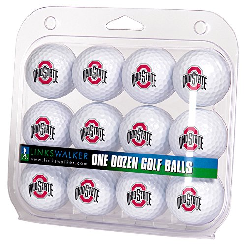 Check Out This NCAA Ohio State Buckeyes - Dozen Golf Balls