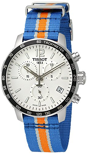 Tissot Herren-Uhren Analog Quarz One Size Textil 86949202