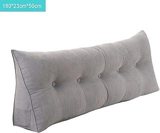 Cojín de cuña triangular, cojín de almohada para sofá cama, almohada de lectura para reposo en cama, respaldo para cabecera, almohadilla lumbar para sofá de cama de oficina