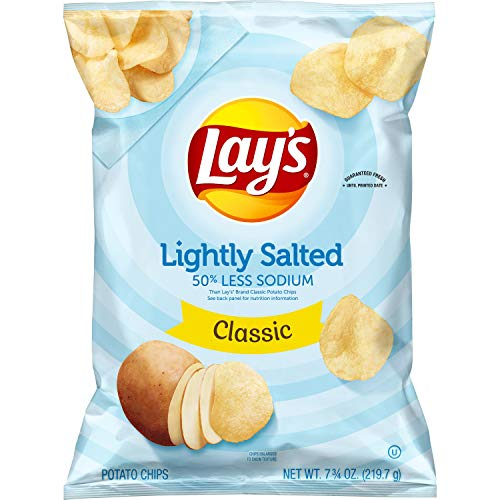 Lay's Lightly Salted Potato Chips, 7.75 Ounce