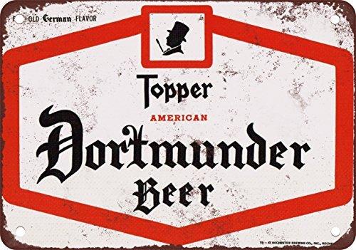 metal Signs Topper American Dortmunder Bier Vintage Look Reproduktion Metall blechschild 30,5x 45,7cm