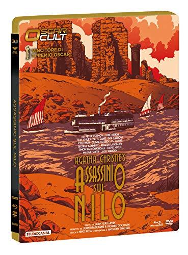 """Assassinio Sul Nilo """"Oscar Cult"""" Combo (Br+Dv)Ltd Ocard Numerata + Card Da Colle"""