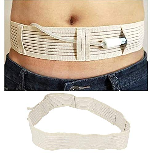 Catheter Fixation Device for Abdominal Dialysis, PD Catheter Holder Drainage Tube Belt (Large)