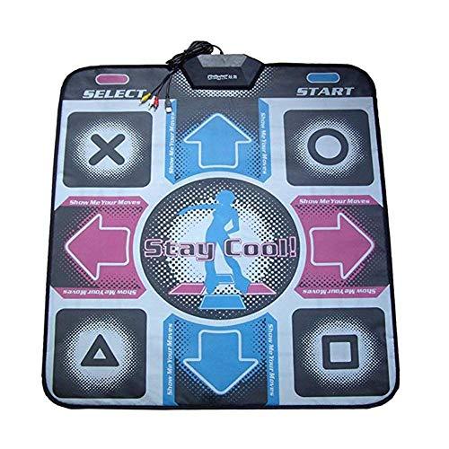 WXGY Bailar Manta USB Dance Mat para la televisión y el Ordenador de Doble Uso Dance Mat Musical Alfombra de Juego Saludable Relax Entretenimiento Herramienta para Adultos Niños
