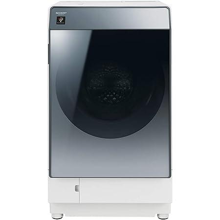 シャープ 洗濯機 ドラム式洗濯機 ハイブリッド乾燥 右開き(ヒンジ右) DDインバーター搭載 シルバー系 洗濯11kg/乾燥6kg 幅640mm 奥行728mm ES-W112-SR