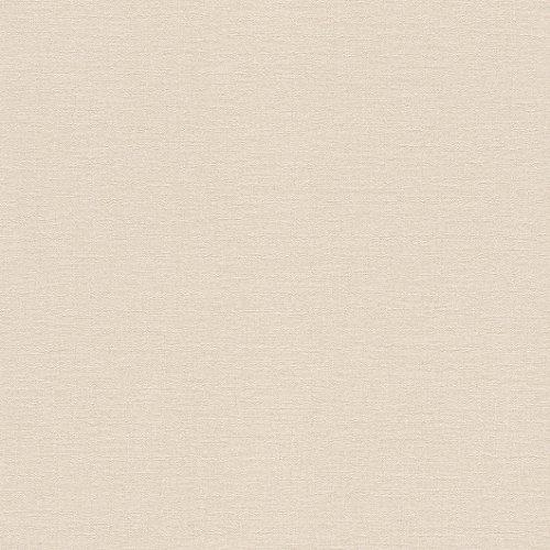 rasch Tapete 448559 aus der Kollektion Florentine II – Einfarbige Vliestapete in zartem Rosa – 10,05m x 53cm (L x B)