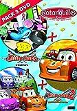 Coffret 3 DVD Little cars1&2/Ratanouilles